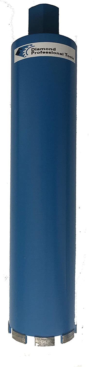 """(2-Pack) 4 Inch Top Professional Quality Diamond Core Drill Bits for Cutting Concrete and Asphalt, 4"""" Diameter x 17"""" Length"""