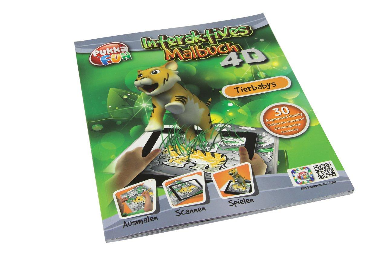 Amazon.com: JAMARA 460324 - Libro para colorear (4 ...
