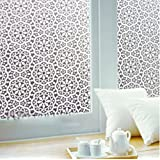 Amazon Price History for:Vogue Carpenter Privacy Window Film Paper Sticker 17.7x78.5In Chinese Characteristics Decorative Flower Decal Panel