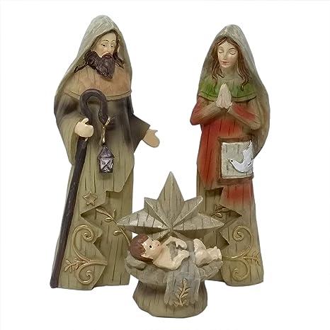 380812e8dfb ToCi - XL Figuras de belén (25 cm) de la Sagrada Familia ...