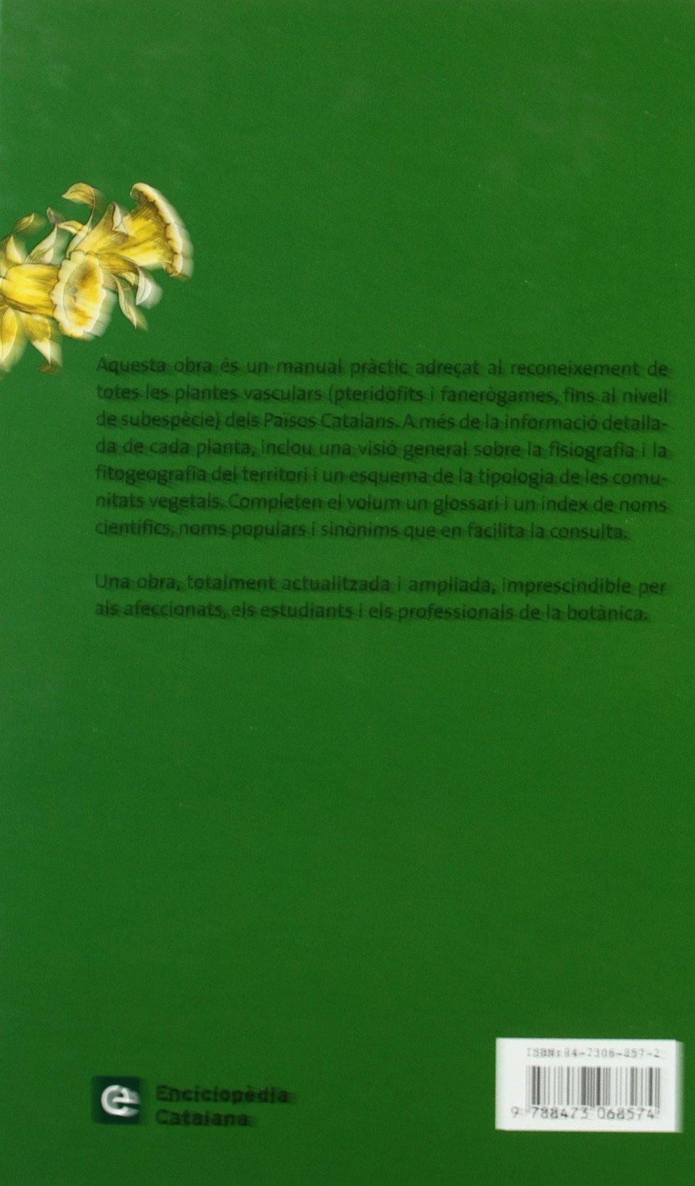 Flora MANUAL DELS PAÏSOS CATALANS (CONÈIXER NATURA): Amazon.es: Diversos  Autors: Libros