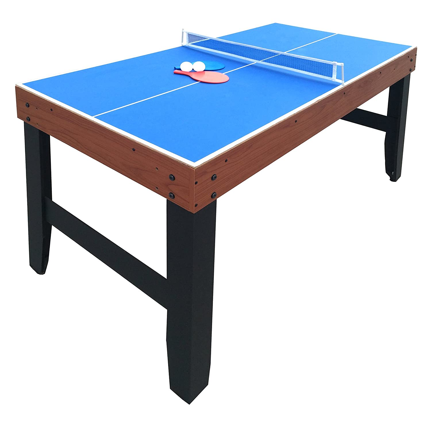 Amazon.com : Hathaway Accelerator 4 In 1 Multi Game Table With Basketball,  Air Hockey, Table Tennis And Dry Erase Board For Kids And Families : Sports  U0026 ...