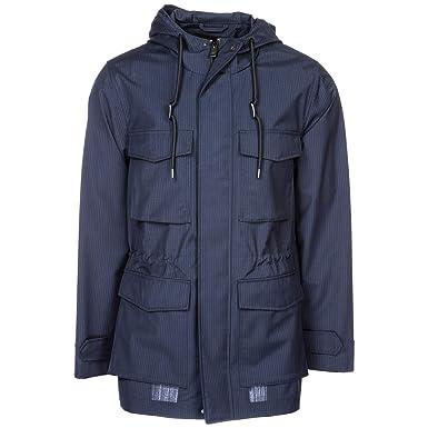 87809c45fe8 Emporio Armani Blouson Homme gessato blu 50 EU  Amazon.fr  Vêtements et  accessoires