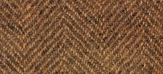 "product image for Weeks Dye Works Wool Fat Quarter Herringbone Fabric, 16"" by 26"", Cognac"