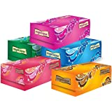Mystique Super Soft 2 Ply Face Tissue- 100 Pulls Each Box (200 Sheets) Pack Of 5-500 Pulls (1000 Sheets)