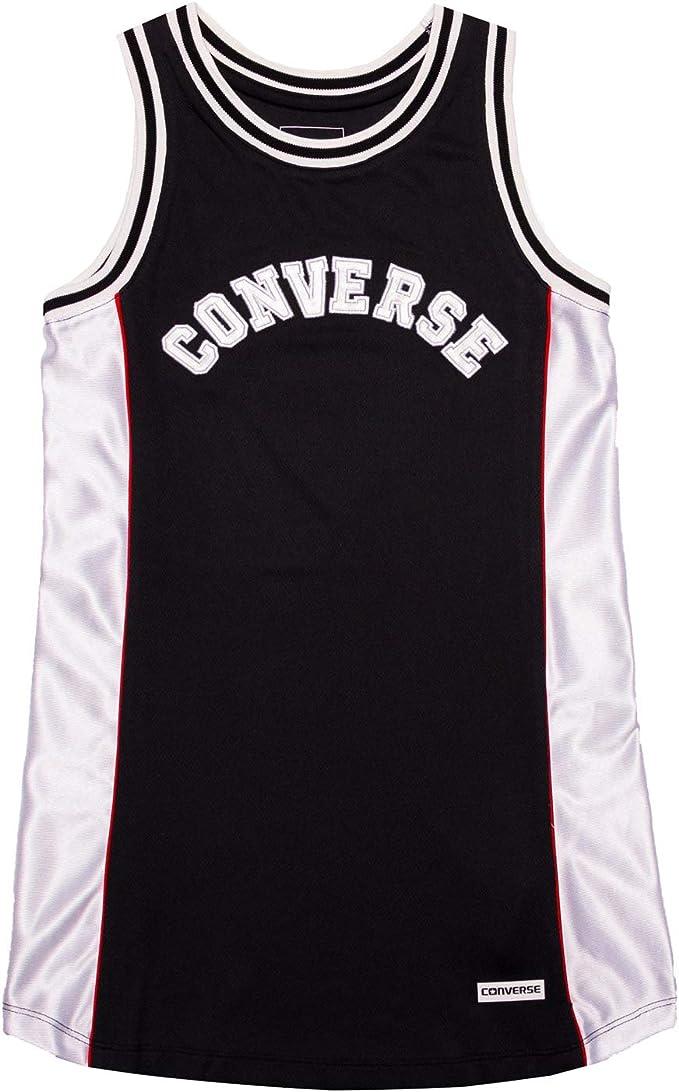 Converse - Vestido de Baloncesto, Color Negro Negro 13-15 años ...