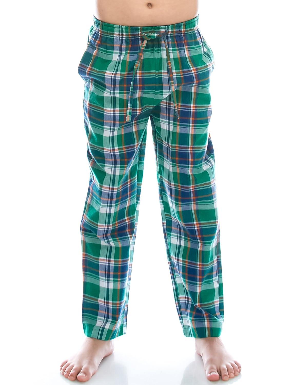 Vaenait baby TINFL 6-14 years Big Jungen Plaid Check Soft 100/% Baumwolle Pyjama Hose