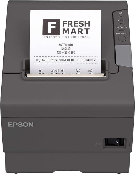Amazon.com: EPSON TM-T88V-330 - Recipiente térmico (USB y ...