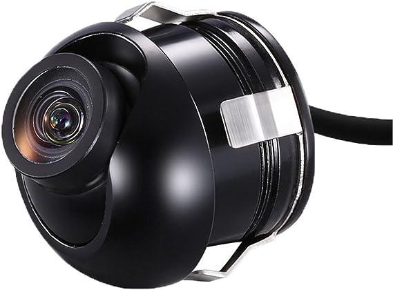 12V MiNI CCD Coms HD Night Vision 360° Car Rear Front Side View Backup Camera