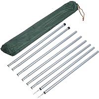 Tarp Shelter Rod Shelter Rod Canopy Rod Inclusief draagtas Lichtgewicht draagbare luifelstang voor buiten kamperen