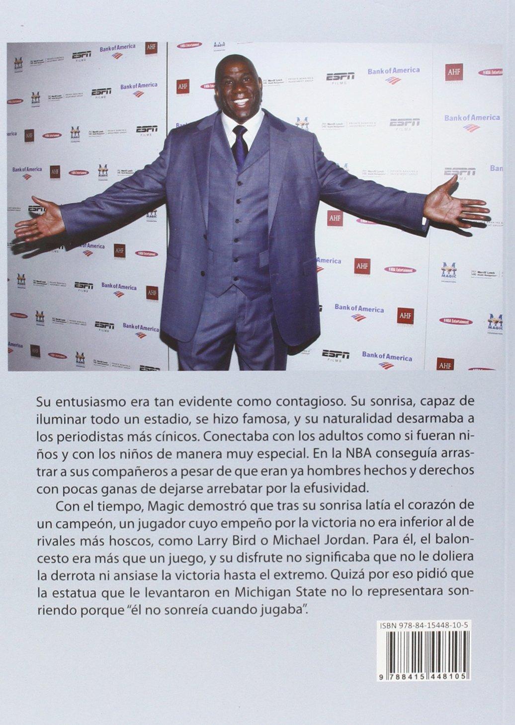 Earvin Magic Johnson: Máximo José Tobías Rubio: 9788415448105: Amazon.com: Books