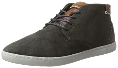 Boxfresh Cheam, Baskets Hautes Homme, Marron, 42 EU