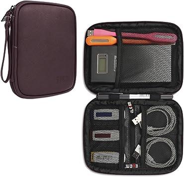 BUBM Bolsa para Pendrives USB Organizador para Cables Estuche para Bateria Extra Cargador y Accesorios Eléctronicos: Amazon.es: Electrónica