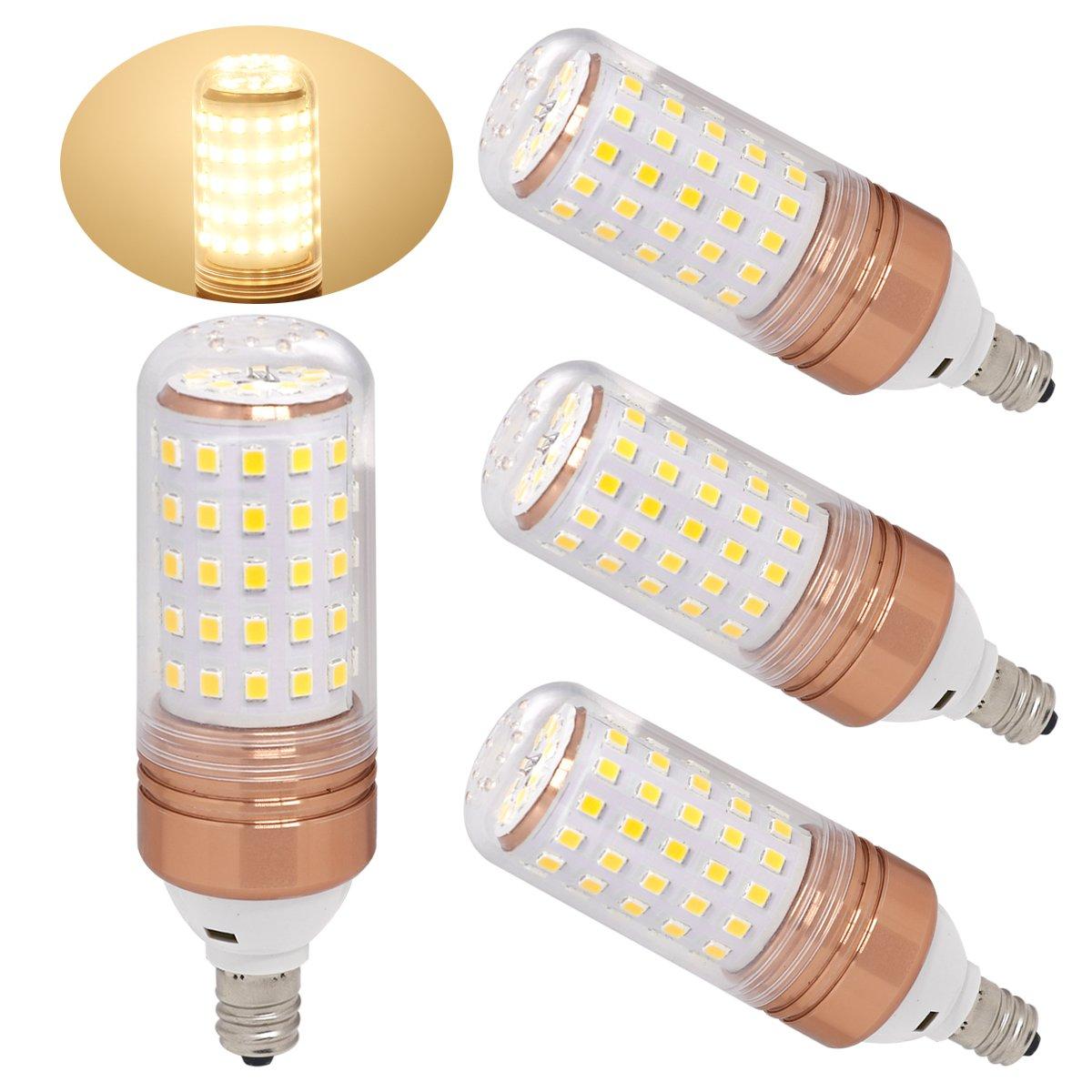 ulight e12 led candelabra bulb 100w halogen bulbs equivalent warm white led 615135216730 ebay. Black Bedroom Furniture Sets. Home Design Ideas