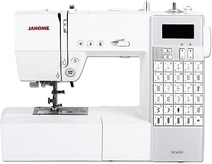 Janome DC 6030 - Máquina de coser (Máquina de coser automática ...