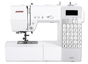 Janome DC 6030 - Máquina de coser (Máquina de coser automática, Blanco, Costura, 5 mm, Eléctrico, 6,8 kg): Amazon.es: Hogar