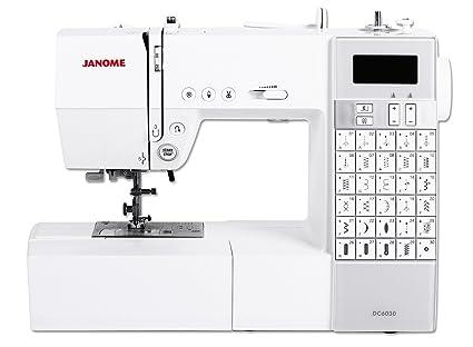 Janome DC 6030 - Máquina de coser (Máquina de coser automática, Blanco, Costura