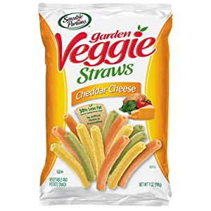 Sensible Portions Garden Veggie Straws, Cheddar Cheese, 7 oz.