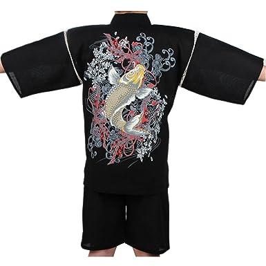 Amazon.com: Fancy Calabaza Jinbei hombre estilo japonés ...