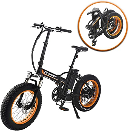 side facing onway hf-201701d folding electric bike