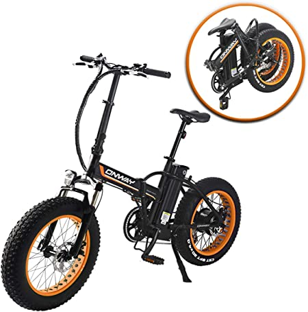 an example of how the onway hf-201701D electric bike looks when folded