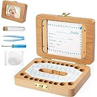 BelleStyle bebé dientes caja, Caja para guardar dientes