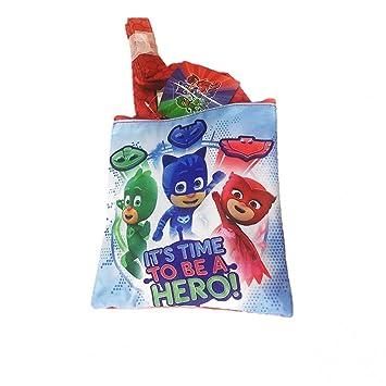 PJ Masks Héroes En Pijamas A95774 Bolsa Bandolera, 20 Centímetros, Multicolor, Gatuno,