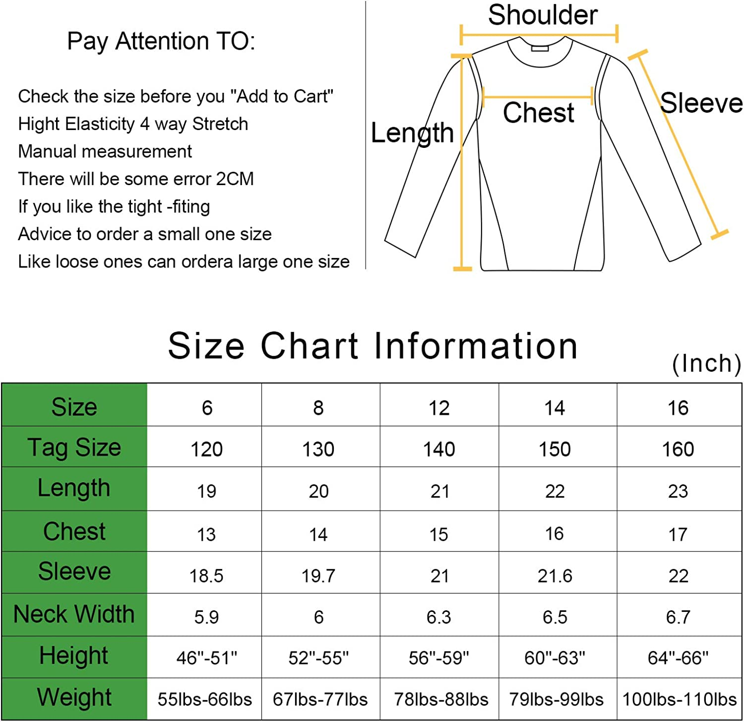 Witkey Boys Thermal Underwear Set 1//2//3//4 Pcs Athletic Compression Leggings and Shirts Base Layer Long Johns for Boys