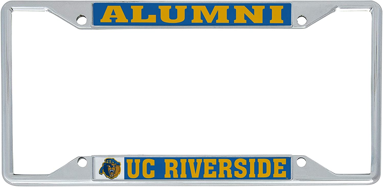 Alumni Desert Cactus University of California Riverside UCR Highlanders NCAA Metal License Plate Frame for Front Back of Car Officially Licensed