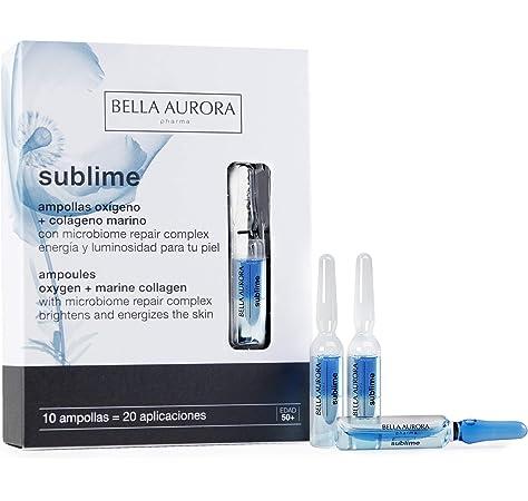 Bella Aurora Sublime Ampollas Oxigeno + Colageno 10Amp 1 Unidad 500 g: Amazon.es: Belleza