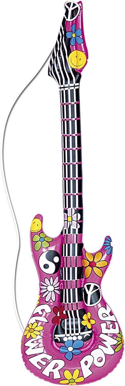 Widmann- Guitarra hinchable, Color morado, talla única (23944) , color/modelo surtido