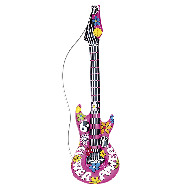 WIDMANN 23944 Hinchable Guitarra, One Size: Amazon.es: Juguetes y ...