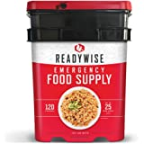 ReadyWise Emergency Food Supply, Freeze-Dried Entree Variety, 120 Servings
