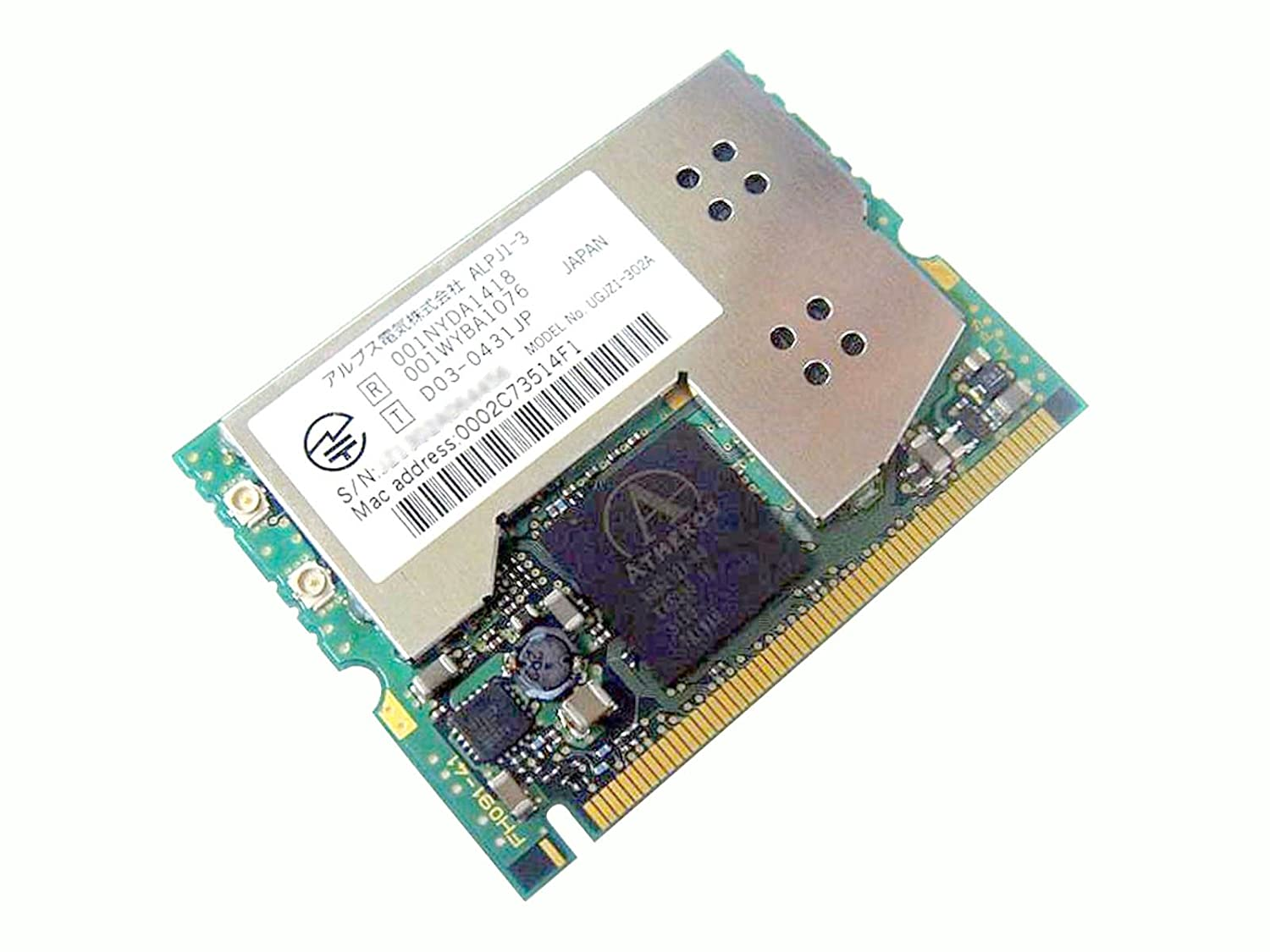 ATHEROS MINI-PCI WIRELESS 802.11G CARD WINDOWS 10 DRIVERS DOWNLOAD