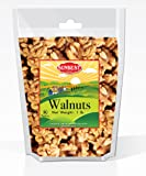 SUNBEST Natural Shelled Raw California Walnuts in Resealable Bag … (1 Lb)