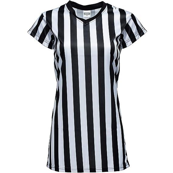 Murray Sporting Goods Camisa de árbitro con Rayas Blancas y Negras ...