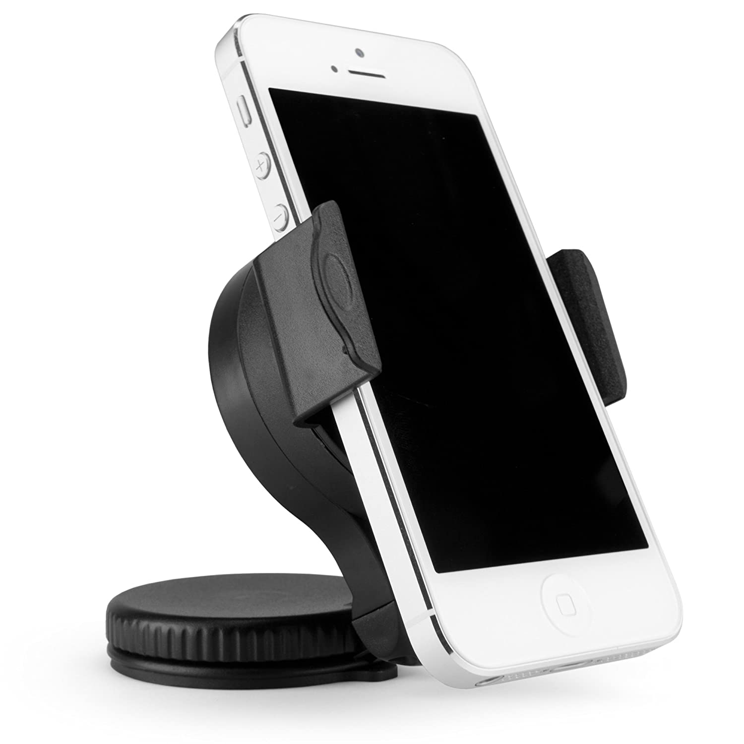 Suction Mounted Car Mount with Adjustable Clamp for AT/&T Mobile Hotspot MiFi 2372 BoxWave Corporation 4352725511 AT/&T Mobile Hotspot MiFi 2372 Car Mount BoxWave TinyMount