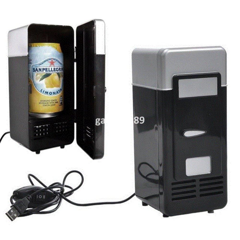 SL&BX Vintage mini usb fridge cooler beverage drink single door mini refrigerator with freezer-B