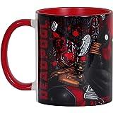 Deadpool Marvel tazza fumetto avvolgente Elbenwald rosso in ceramica