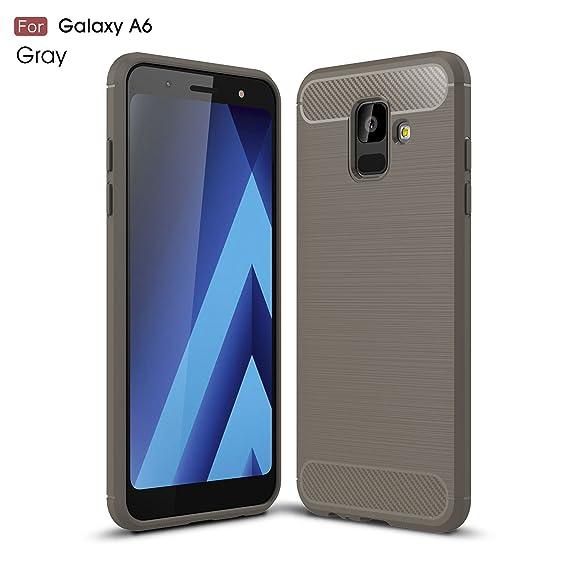 buy popular 44b33 66eba Amazon.com: Galaxy A6 2018 Case - TianTa - Carbon Fiber Case Ultra ...