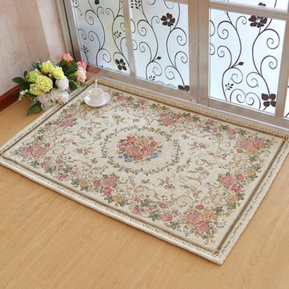 Floor Mats/European-style Garden,Door Anti-skid Mats/Living Room,Bedroom,Table Mats/Start,Office For The Vestibule Doors Mat-P 140x200cm(55x79inch)