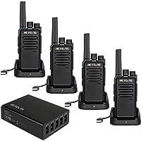 Retevis RT68 Walkie Talkies recargable con cargador USB de 5 puertos, radios de dos vías de largo alcance, radio de 2…
