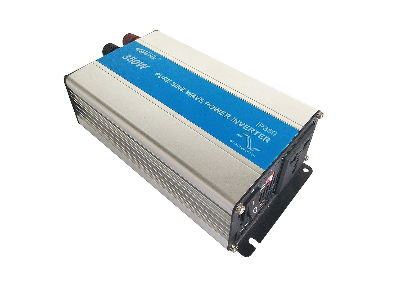 Epever Reiner Sinus Spannungswandler 350w Ip350 12 Inverter Wechselrichter 12v Dc Auf 230v Ac Stromwandler Ip350 12 350w 12v 230v Gewerbe Industrie Wissenschaft