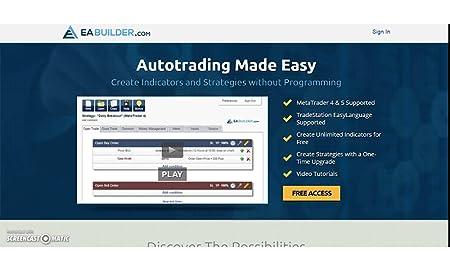 Online Forex Expert Advisor Generator for MetaTrader