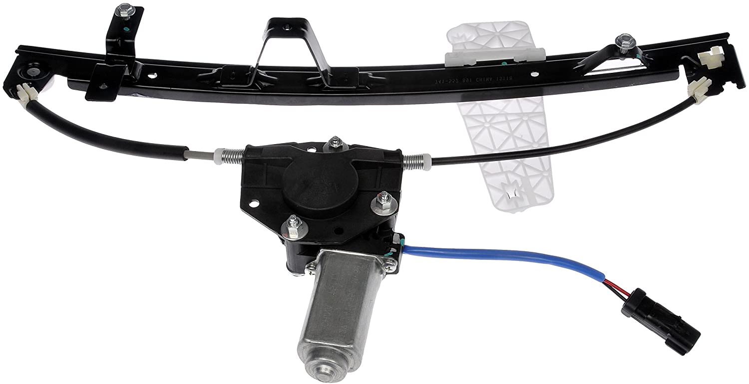 Dorman 741-552 Front Driver Side Replacement Power Window Regulator with Motor for Jeep Grand Cherokee