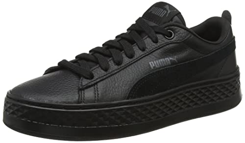 03bd6c5dd248c1 Puma Women s Smash Platform L Low-Top Sneakers  Amazon.co.uk  Shoes   Bags