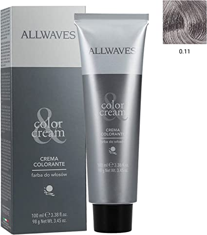ALLWAVES Professionnelle Cream Color 0.11 Cool Grey - Tinte ...