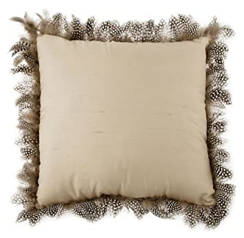 Amazon.com: Zara Home Lujo Pluma decorativa Throw almohada ...