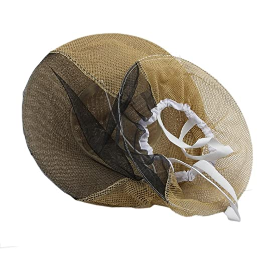 bb2953350 OULII Beekeeping Garden Guard Cowboy Hat Anti Mosquito Bee Insect ...