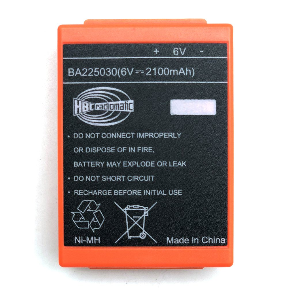 IORMAN 6V 2100mAh HBC Remote Control Crane Driving FUB 05AA Rechargeable Battery BA225030